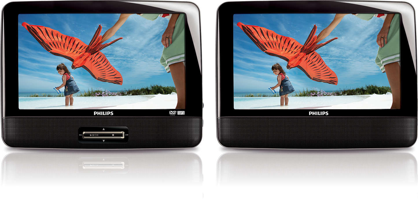 Portable DVD Player PD9122/05 | Philips