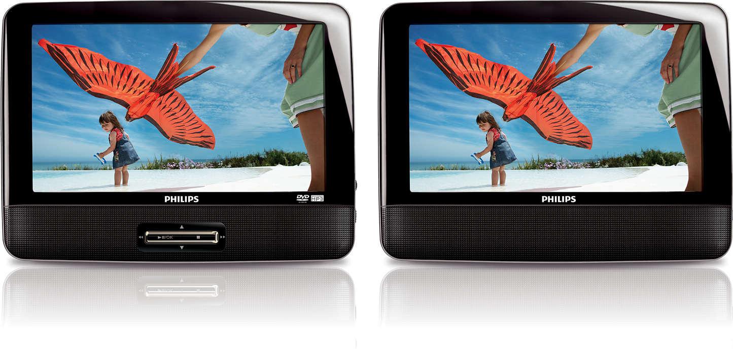 0577482fd Přenosný DVD přehrávač PD9122/12   Philips