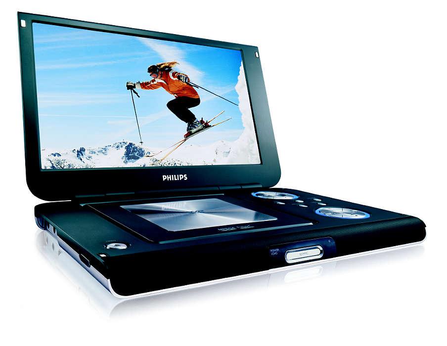 Воспроизводит DVD и цифровое видео