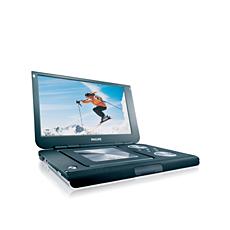 PET1002/05  Portable DVD Player