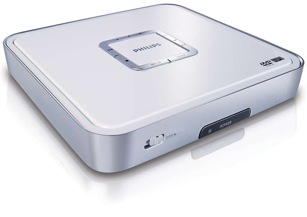 Portable DVD player for all
