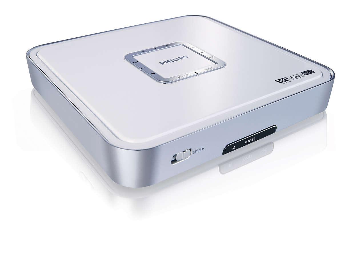 Kannettava DVD-laite kaikille käyttäjille