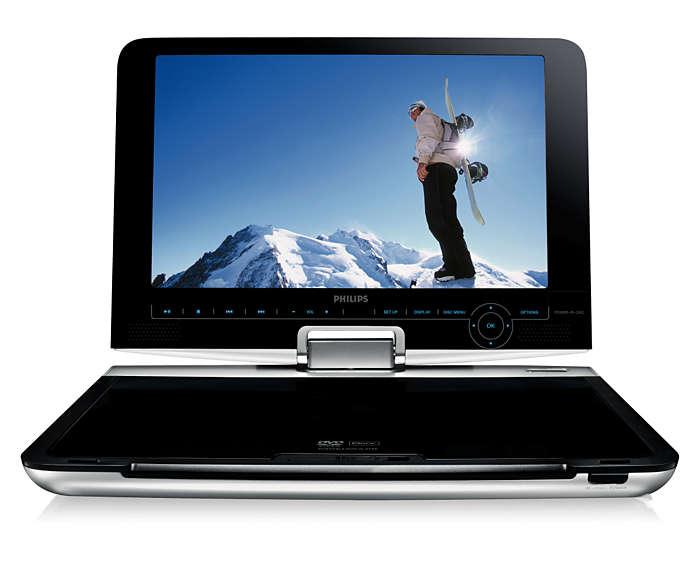 Swivel Screen, flexible view