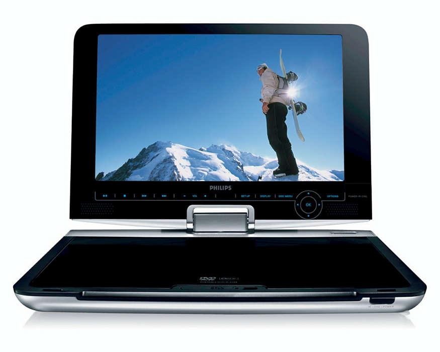 Въртящ се екран, гъвкавост при гледане