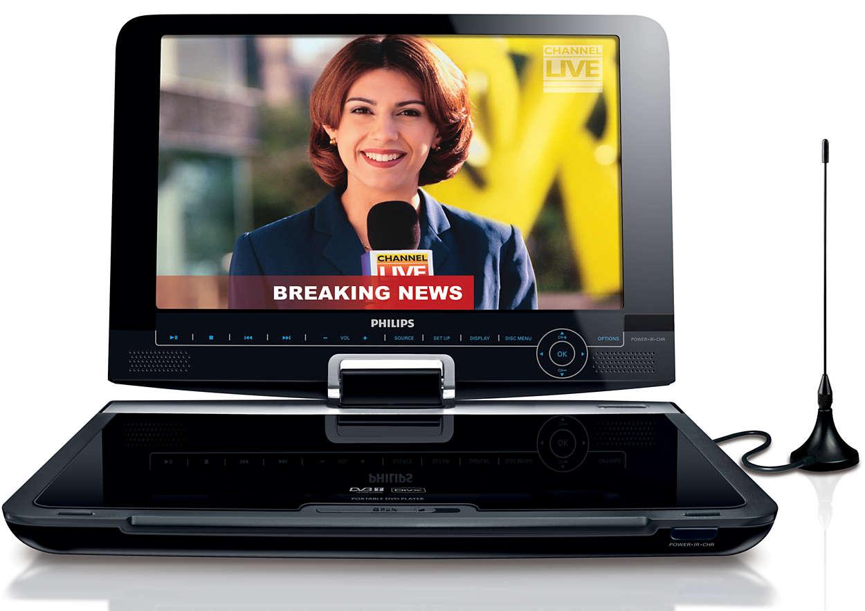Obrotowy wyświetlacz umożliwia wygodne oglądanie