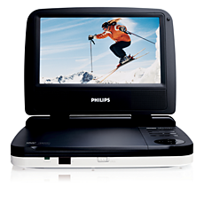PET702/12  Leitor de DVD portátil