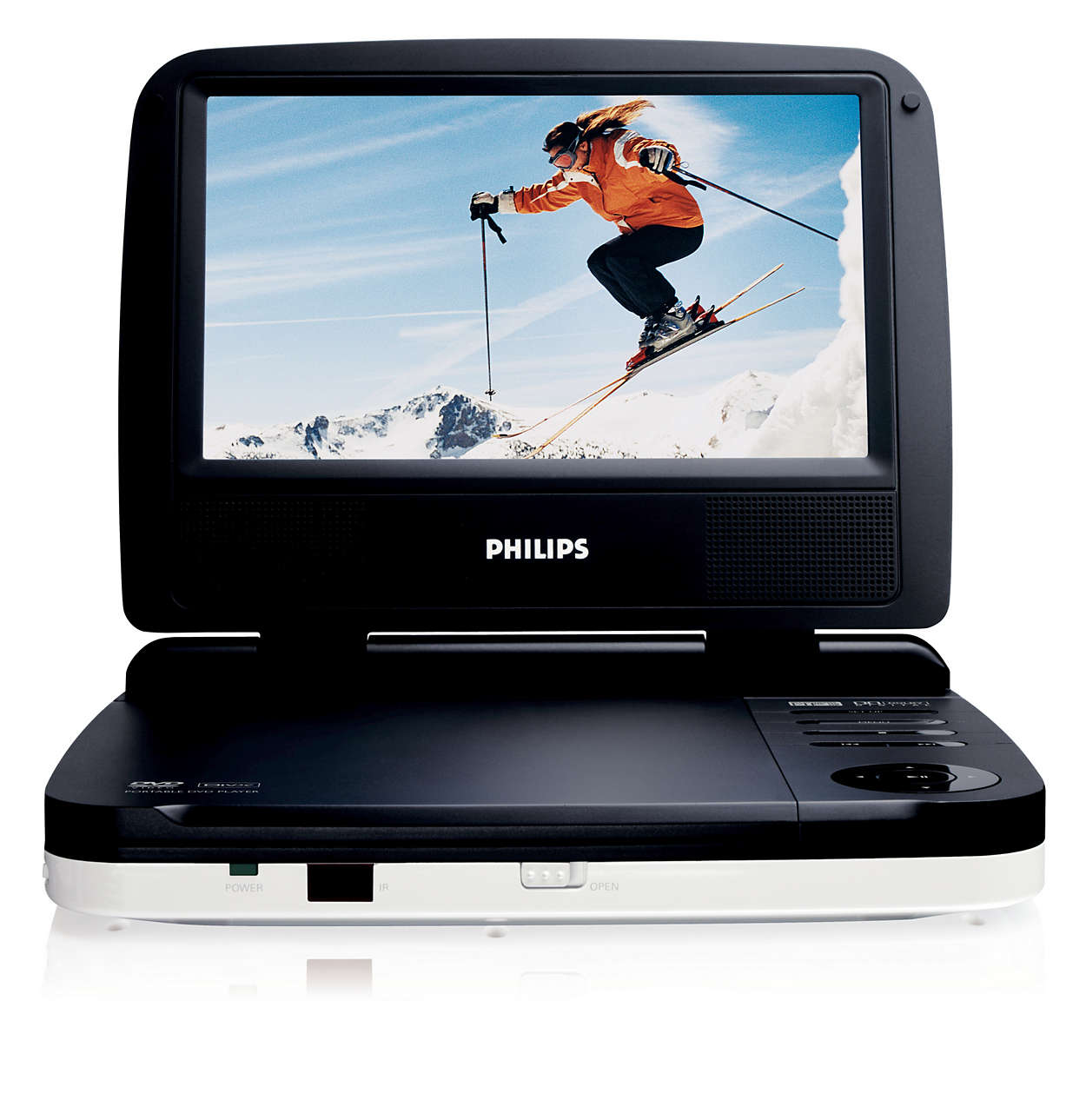 portable dvd player pet702 37 philips. Black Bedroom Furniture Sets. Home Design Ideas