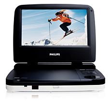 PET702/75  Portable DVD Player
