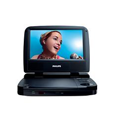 PET703/98  Portable DVD Player