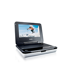 PET704/00  DVD player portabil