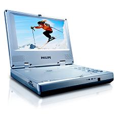 PET705/00  Leitor de DVD portátil