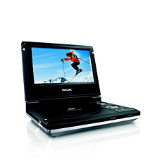 PET706/00  DVD player portabil