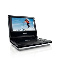 PET706/05  Portable DVD Player