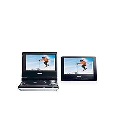 PET707/00  DVD player portabil