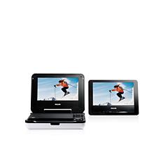 PET708/75  Portable DVD Player