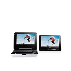 PET708/75  Portable DVD Player