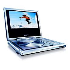 PET710/00 -    Przenośny odtwarzacz DVD