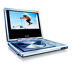 PET710/05  Portable DVD Player