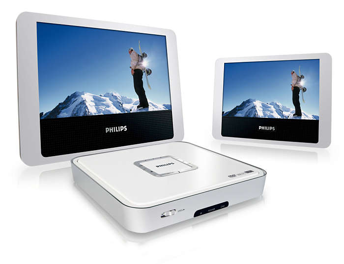 Double your DVD and DivX® movie enjoyment
