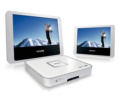 tragbarer dvd player pet712 12 philips. Black Bedroom Furniture Sets. Home Design Ideas