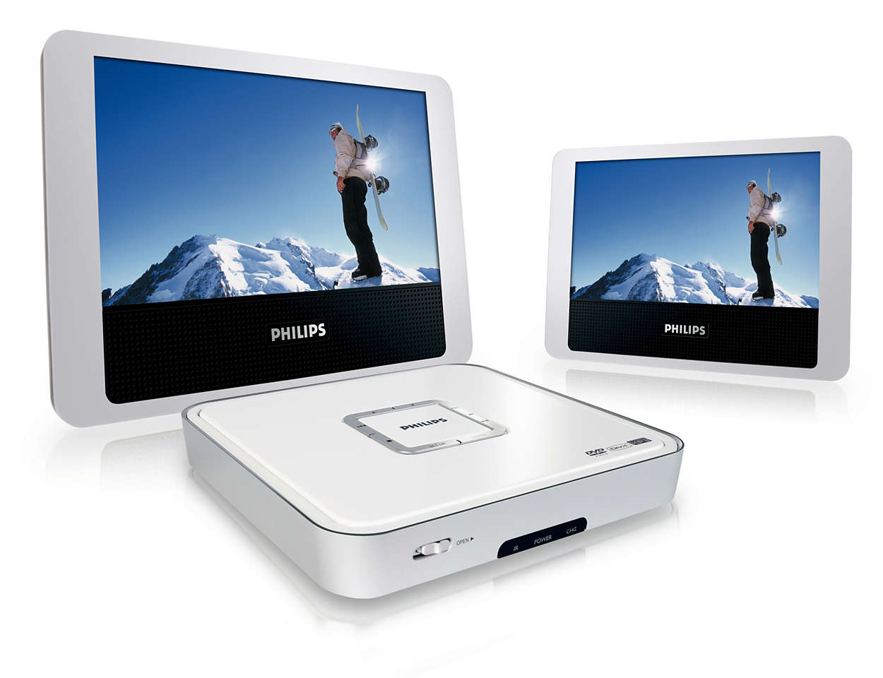 Doble DVD- og DivX®-filmopplevelsen