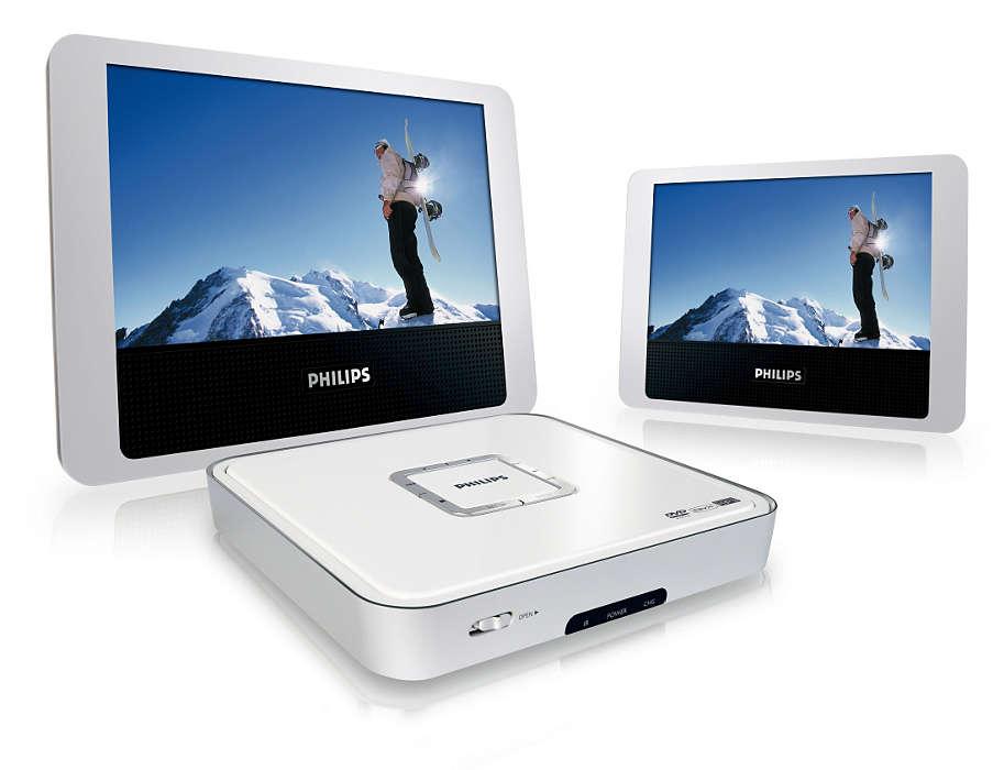 Dwa razy więcej przyjemności z oglądania filmów DVD & DivX®