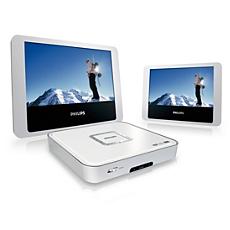 PET712/12 -    Leitor de DVD portátil