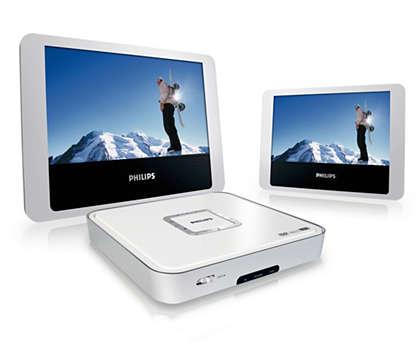 Duplique o seu entretenimento com filmes em DVD e DivX®