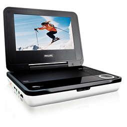 Reproductor de DVD portátil