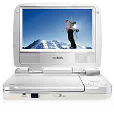 PET716/05 -    Portable DVD Player