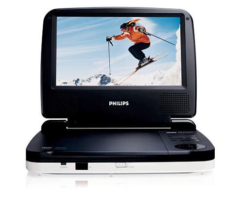 tragbarer dvd player pet716 12 philips. Black Bedroom Furniture Sets. Home Design Ideas