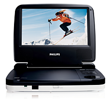 PET716/12  Leitor de DVD portátil