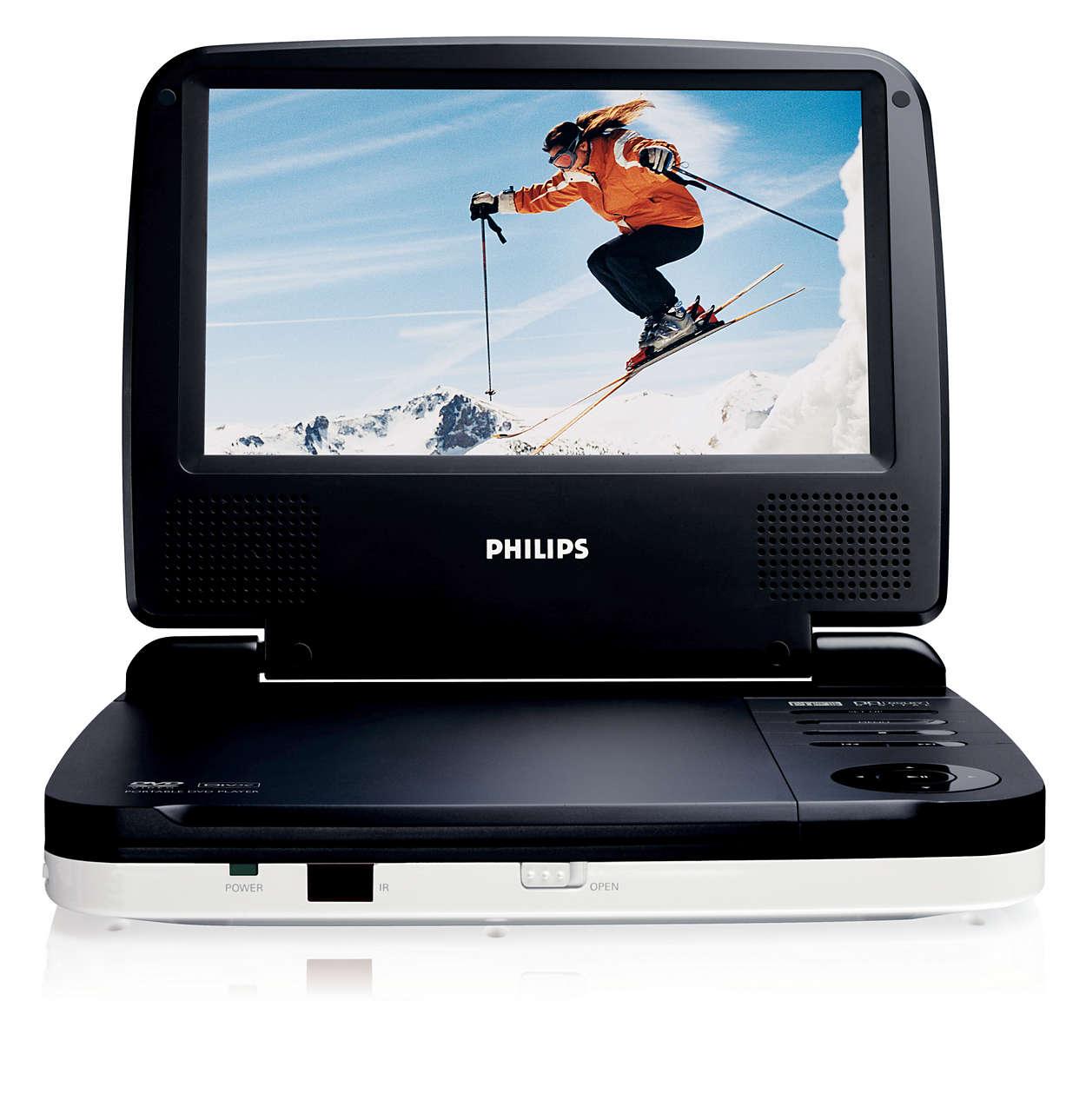 DVD a DivX® filmy na cestách