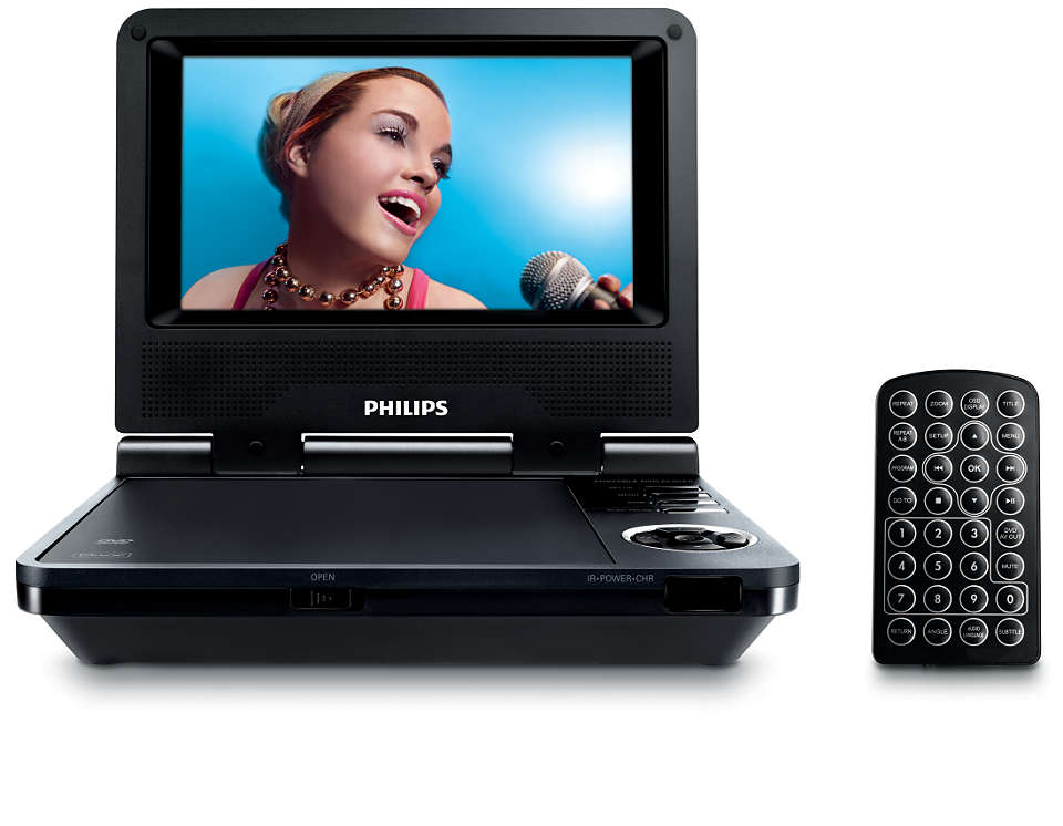 DVD and DivX® movies on the go