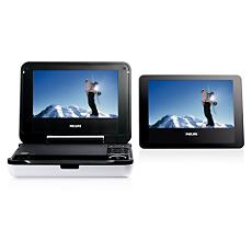 PET718/12 -    Tragbarer DVD-Player