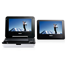 PET718/12  DVD player portabil