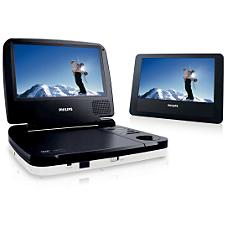 PET719/05  DVD player portabil