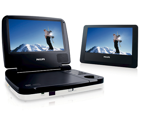 Philips  Dual Screen Portable Car Dvd Player Reviews
