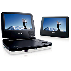 PET719/12  DVD player portabil