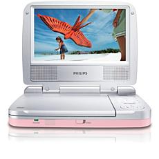 PET721C/12  Lecteur de DVD portable
