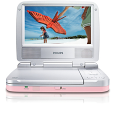PET721C/12  DVD player portabil