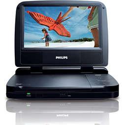 Draagbare DVD-speler
