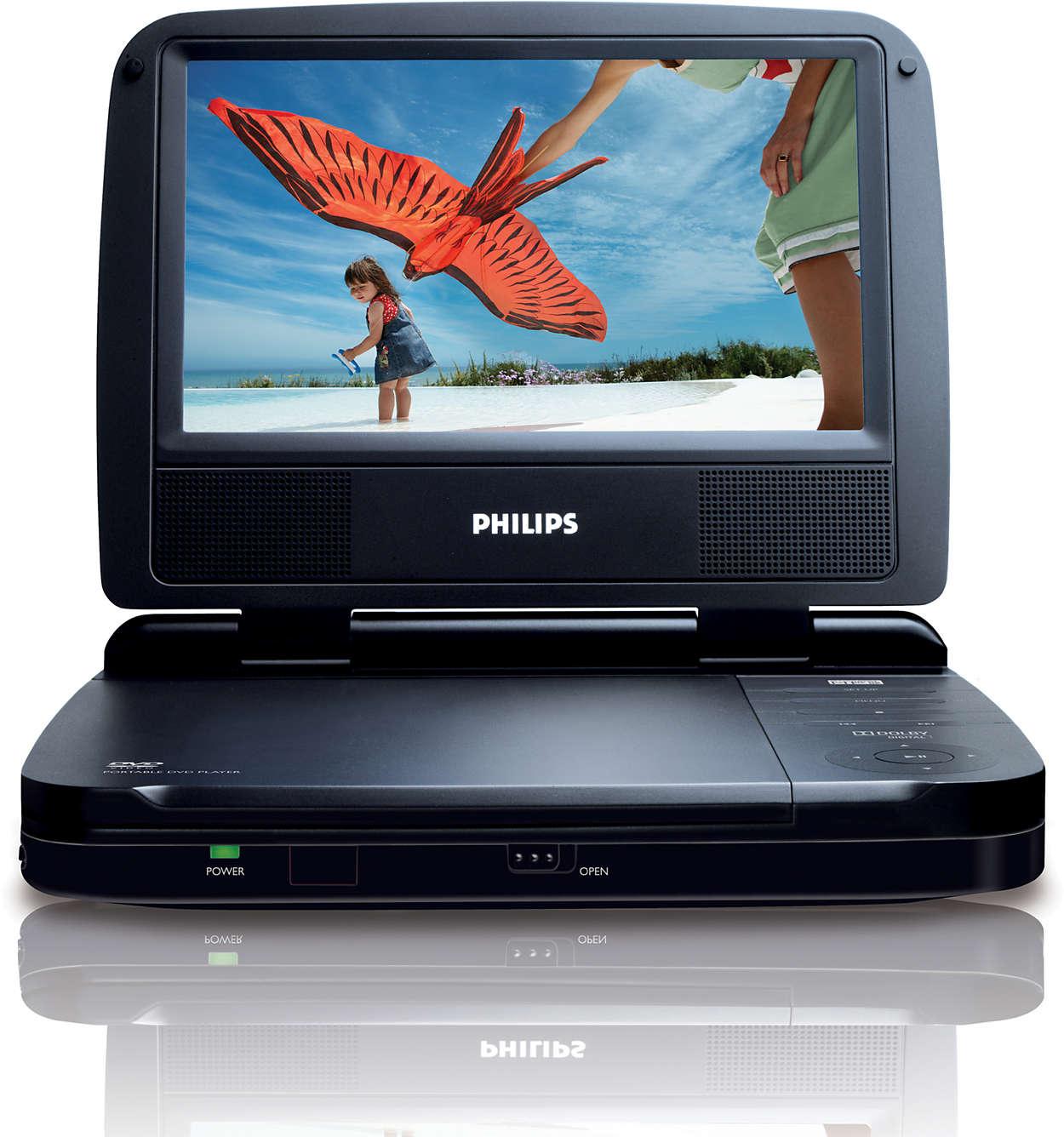 zubeh r f r tragbarer dvd player pet721d 12 philips. Black Bedroom Furniture Sets. Home Design Ideas