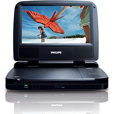 PET721D/12  Lecteur DVD portable