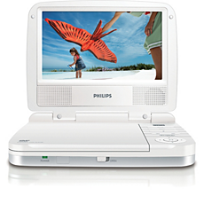 PET721S/12  DVD player portabil