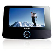PET722/98  Portable DVD Player