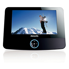 PET723/05 -    Portable DVD Player