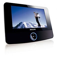 PET723/98  Portable DVD Player