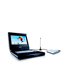 PET728/00 -    Lecteur de DVD portable