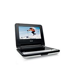 PET730/05  Portable DVD Player